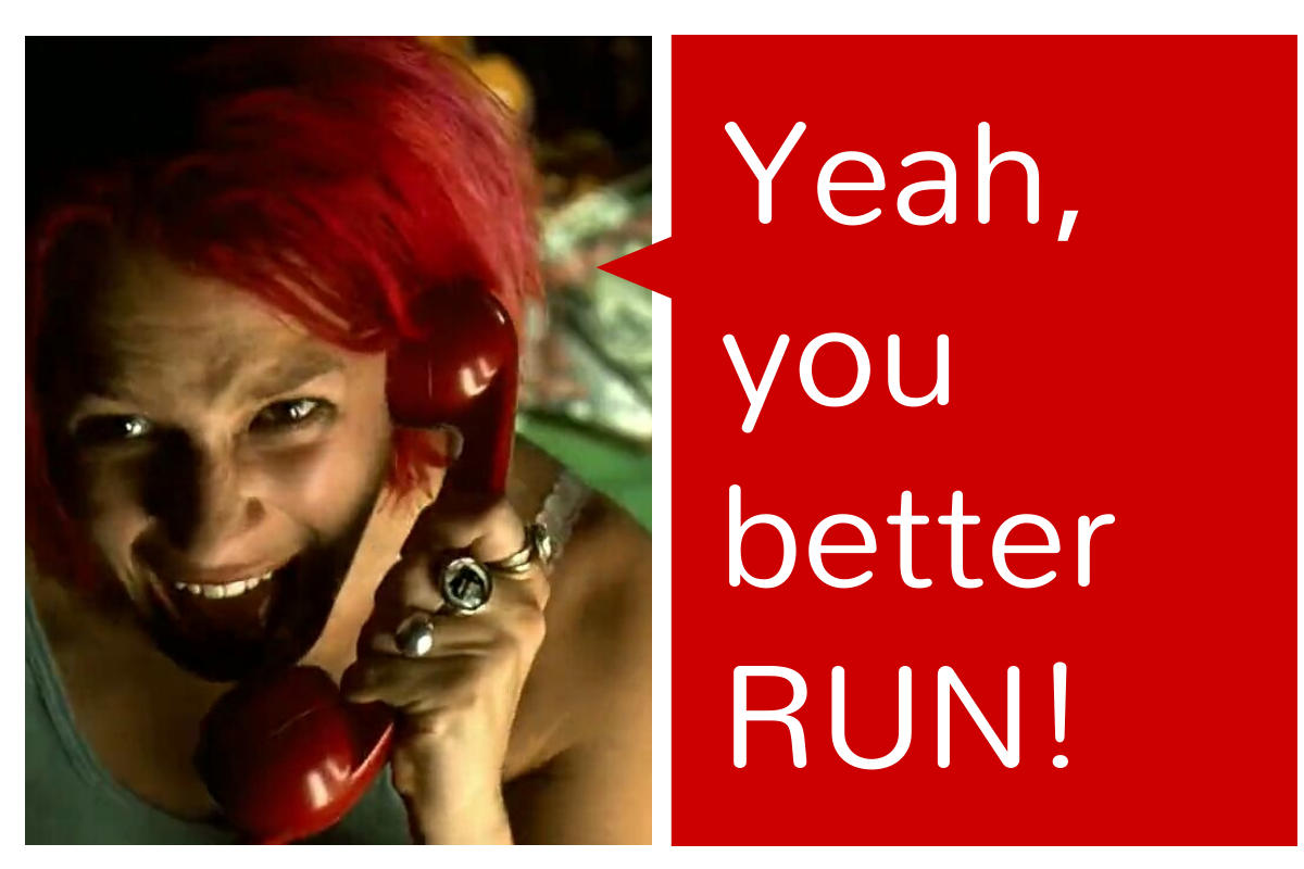 run lola run essay questions Distinctively visual - run lola run how to write a high range essay on run lola run  you must always refer back to the essay question always recap on the ideas raised in the essay.